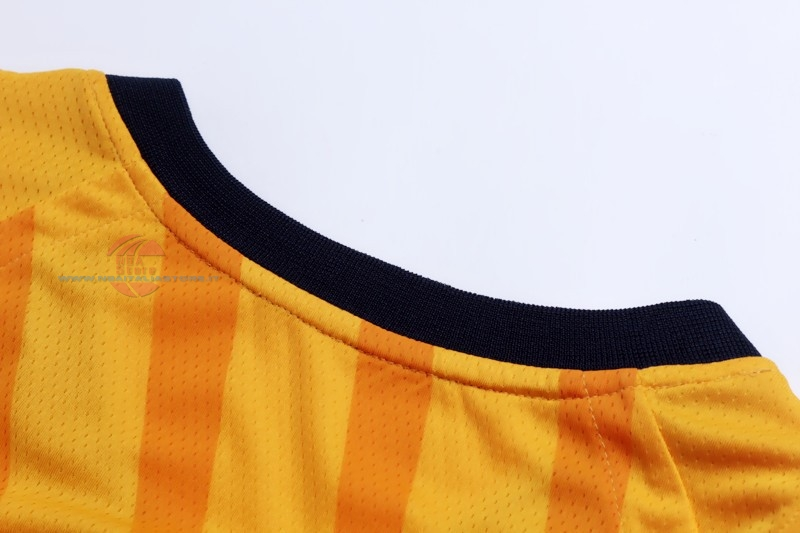 Acquista Maglia NBA Nike Indiana Pacers NO.4 Victor Oladipo Giallo Statement