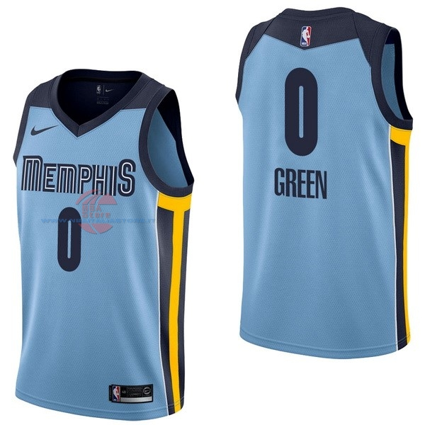 Acquista Maglia NBA Nike Memphis Grizzlies NO.0 JaMychal Green Blu Statement