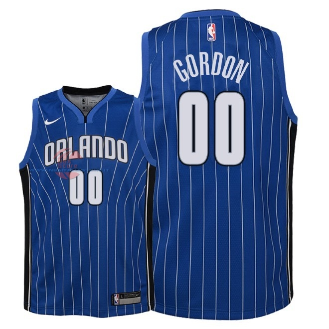 Acquista Maglia NBA Bambino Orlando Magic NO.0 Aaron Gordon Blu Icon 2018