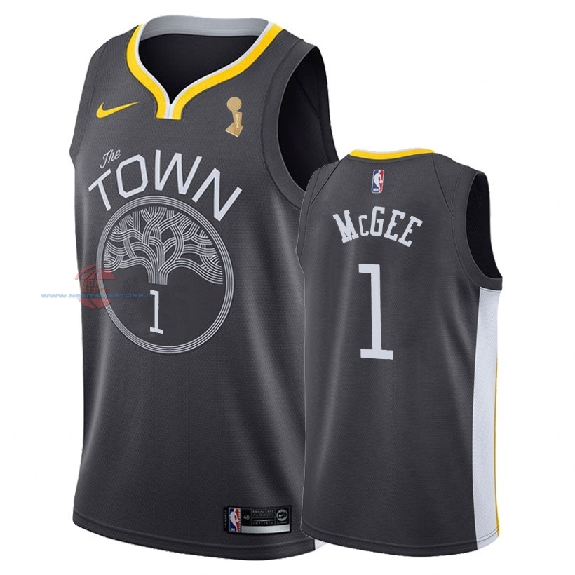 Acquista Maglia NBA Golden State Warriors 2018 Campionato Finali NO.1 JaVale McGee Nero