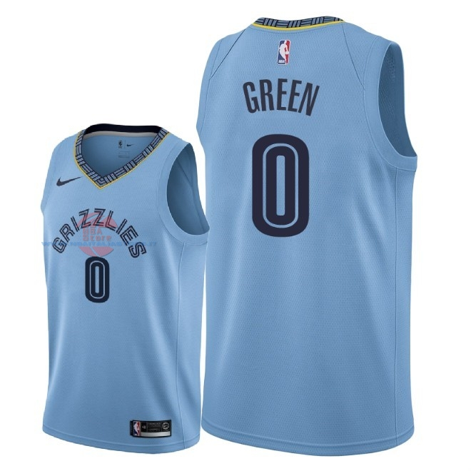 Acquista Maglia NBA Nike Memphis Grizzlies NO.0 JaMychal Green Blu Statement 2018-19