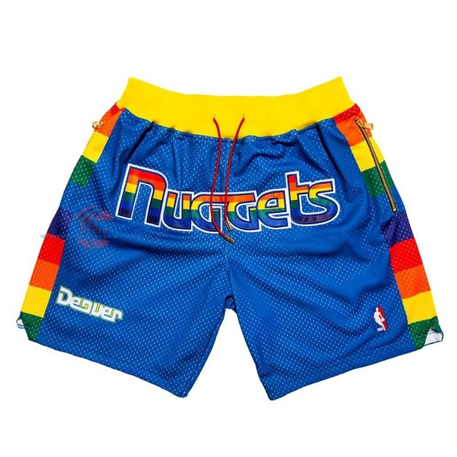 Acquista Pantaloni Basket Denver Nuggets Nike Blu 2018