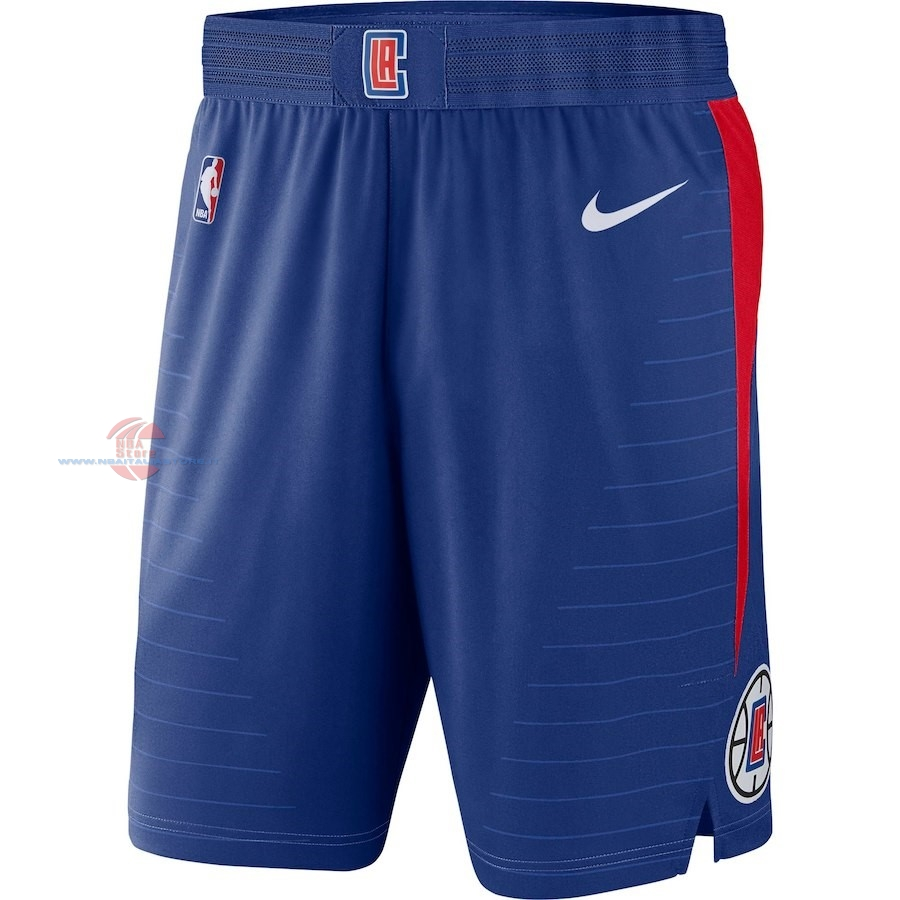 Acquista Pantaloni Basket Los Angeles Clippers Nike Blu Icon 2018