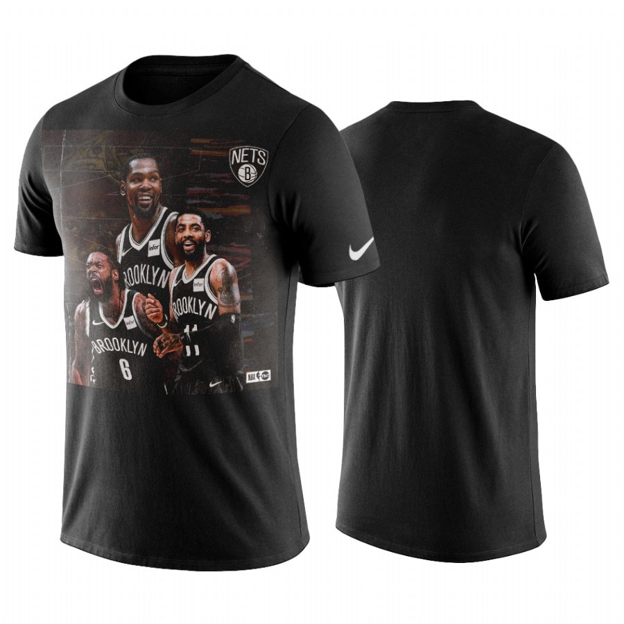 T-Shirt Brooklyn Nets Kyrie Irving Nero A Poco Prezzo