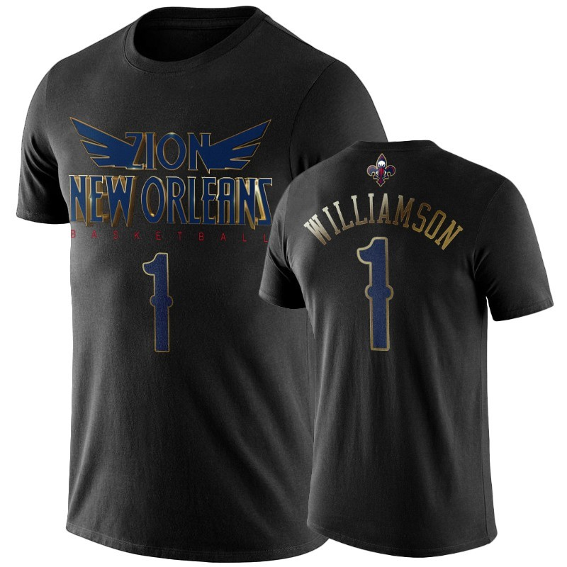 T-Shirt New Orleans Pelicans Zion Williamson Nero A Poco Prezzo