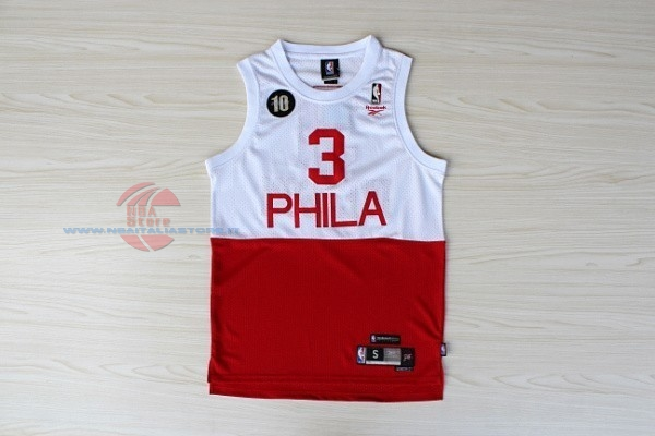 quality design 4482c 18c38 NBA Store Italia:Acquista Maglia NBA Philadelphia Sixers NO ...