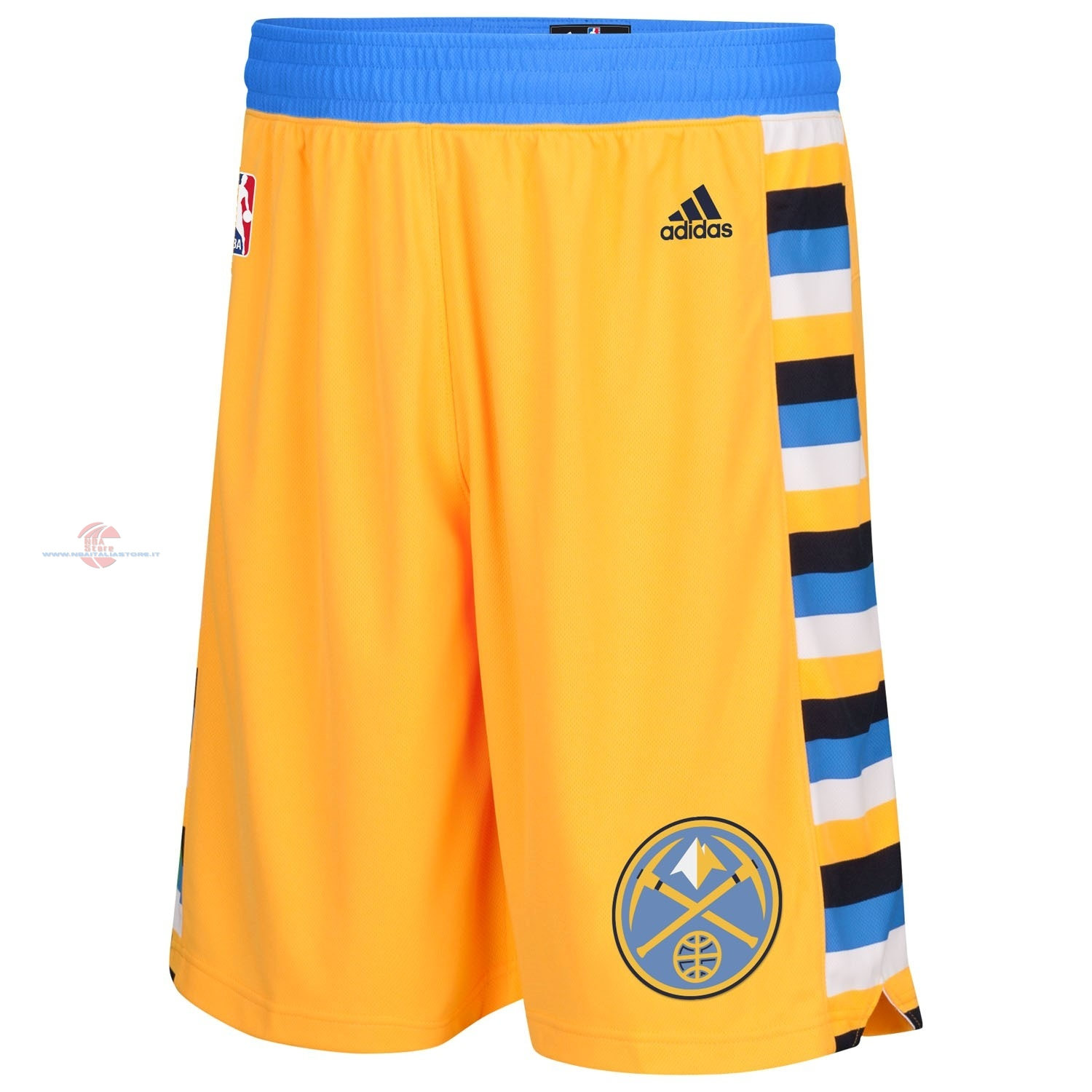 Acquista Pantaloni Basket Denver Nuggets Giallo