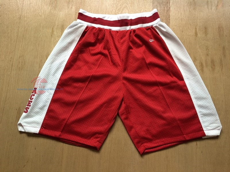 Acquista Pantaloni Basket Lower Merion Rosso